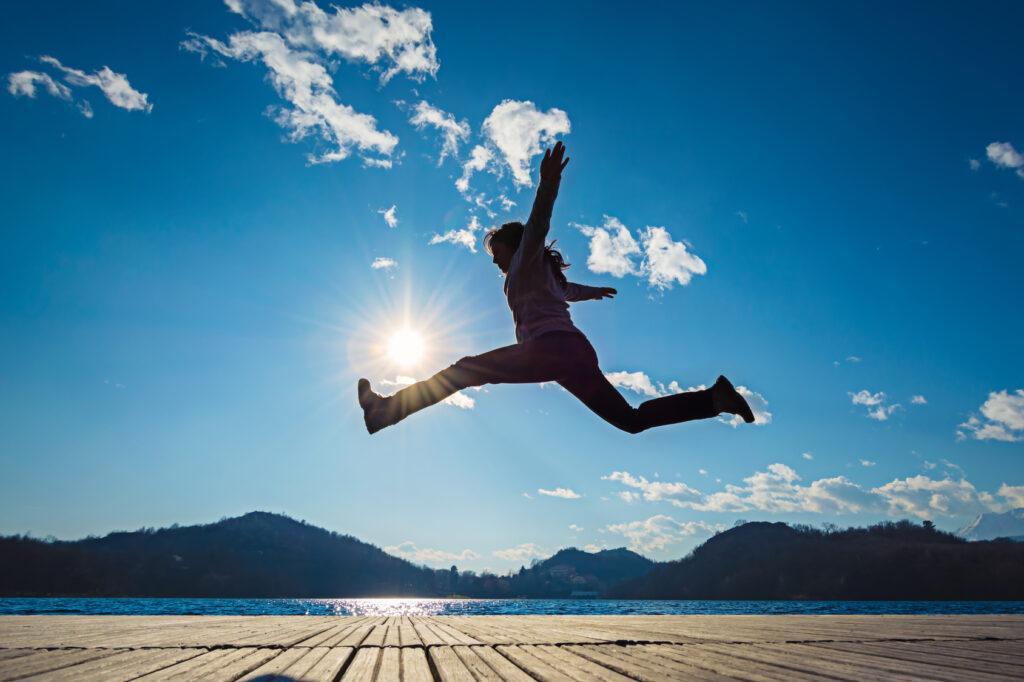 Sprung in ein erfülltes Leben... es ist Deine Entscheidung